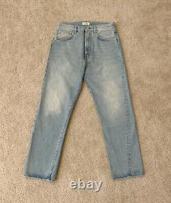 Brand New Toteme Original Jeans Washed Light Blue Size 27