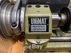 Brand New Unimat SL1000 Lathe with Box Parts
