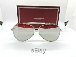 Brand new, Never worn Jacques Marie Mage (JMM) GERONIMO Silver mirror Sunglasses
