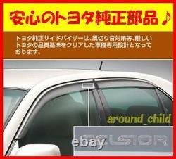 Brand new Toyota original side visor, 30 series Celsior UCF30 31, From Japan