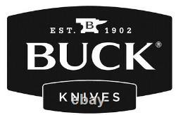 Buck Knives 120 General Pro Fixed Blade Knife 7.375 S35VN Green Micarta +Sheath