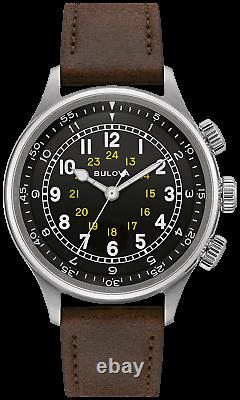 Bulova A-15 Pilot 42mm 21-Jewel Automatic Men's Watch