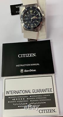 CITIZEN Men's Original AT2431-87L Eco Drive Watch 100m Brand New+Box