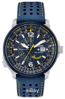 Citizen Eco-Drive Promaster Nighthawk Blue Angels Pilot's Watch BJ7007-02L