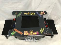 Classic 412 Games Cocktail Retro Arcade Machine Free Shipping Free Stools