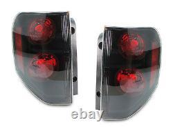 DEPO JDM Black/Smoke Rear Left + Right Tail Lights Lamps For 2003-08 Honda Pilot