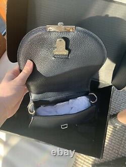 DeMellier The Mini Venice in Black Grain, Brand New Never Used, Original Box