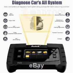 Diesel Gas Full System Vehicles Scanner Diagnostic Tool Original Autek IFIX919