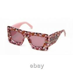 EMILIO PUCCI EP0095-66S-55 Sunglasses Size 55mm 145mm 17mm Red Brand New