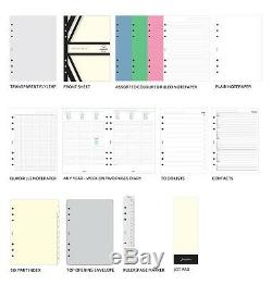 Filofax Original A5 Organizer Stone Any Year 026067 Brand New Color