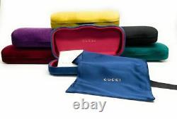 GUCCI GG0009S 001 Black Aviator Square Men's Authentic Sunglasses 59mm