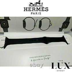 Genuine Apple Watch Hermes 5 40mm 38mm Black Sport Band Brand New RARE original