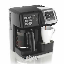 Hamilton Beach 49976 FlexBrew 2-Way Brewer Programmable Coffee Maker Black