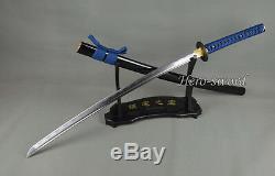 Handmade Japanese Samurai Katana Sword T1095 High Carbon Steel Full Tang Sharp