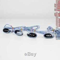 Hella LED Seitenmarkierungsleuchten 4er Set SML schwarz Begrenzungsleuchten