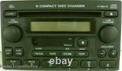 Honda CRV CD6 Cassette XM capable radio. OEM factory original stereo. Brand new
