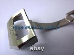 IWC 18mm Deployment Deployant UNROC Clasp Buckle STAINLESS STEEL BRAND NEW
