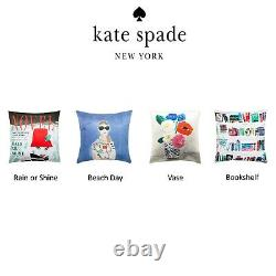 Kate Spade ASSORTED Silk Decorative Throw Pillows BRAND NEW WITH TAGS