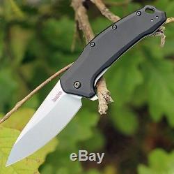Kershaw usa M390 STEEL Link Spring Assist SPEEDSAFE Flipper knife 1776BLK