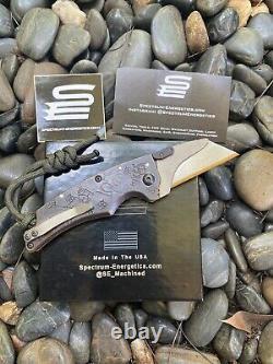 Koch Tools Folding Pocket Knife by SpectrumEnergetics Utility Razor Brand New