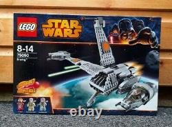 Lego Star Wars B-wing 75050 Brand New Sealed