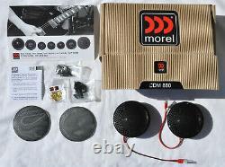 MOREL CDM880 HIGH-END MIDRANGES SOFT-DOME 88mm BRAND NEW PAIR ORIGINAL, WARRANTY