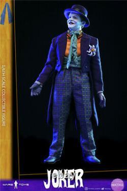 Mars Toys MAT002 1/6 Batman JOKER Jack Nicholson 12 Male Figure Clothes Presale