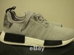 Men's Adidas Light Gray NMD R1 Original Sneakers Size 8 BRAND NEW