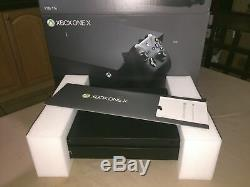 Microsoft Xbox One X 1TB Black Console and Cables only 4K UHD