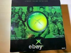 Microsoft Xbox Original Black Console Brand New Factory Sealed