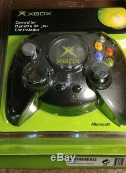 Microsoft Xbox Original Duke Controller 2001 K04-00001 Brand NewithSealed Black