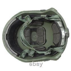 Military Tactical Uhmwpe Helmet Od Green M/l Size LVL Iiia Ballistic Helmet