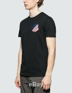 Moncler Genius 1952 Logo S/S T-Shirt Navy M Size Original Brand New