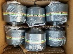 NATO 40mm NBC/CBRN Gas Mask Filter 6-Pak Newest Avail 5yr Shelf-Life Exp 07/2025