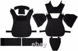 NEW set Body Armor Gear Protection bulletproof Tactical vest, kevlarr elements