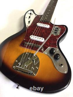 New Jag Style 2 Tone Sunburst 6 String Electric Guitar Tremolo Offset Body