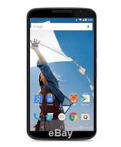 New Unlocked Original Motorola Nexus 6 XT1103 32GB Android Smartphone Blue
