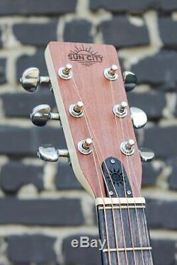 New brand! Sun City Custom acoustic Guitar Orchestra guitars Trembita Original