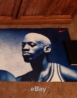 Nike No Bull Michael Jordan, Pippen, Rodman Poster Original 23x76 Brand New