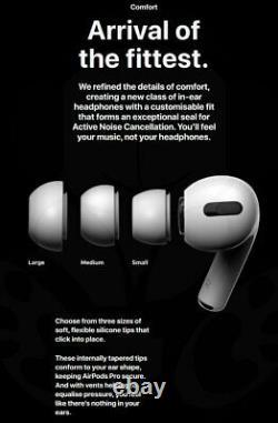 ORIGINAL Brand New Wireless Apple AirPods Pro White In-Ear Bluetooth Headphones