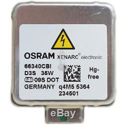 OSRAM D3S 66340CBI Xenarc CoolBlue Intense Xenon Scheinwerfer Lampe NEU DB