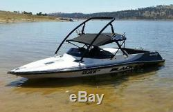 Origin Advancer Boat Wakeboard Tower 2.25 Tube Glossy Black 5 Year Warranty