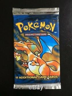Original Charizard Base Set Booster Pack Classic 1999 Sealed Brand New Pokemon