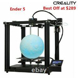 Original Creality Ender 5 3D Printer Dual Y-axis 220X220X300mm Power Off Resume