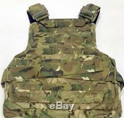 Original Crye Precision Plate Carrier Vest Multicam Size Medium SOCOM SEAL