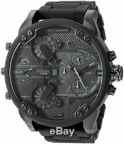 Original Diesel Herren Uhr DZ7396 XL Mr Daddy 2.0 Dark Neu & Ovp
