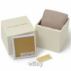 Original Michael Kors damenuhr mk4325 darci edelstahl kunststoff gold beige neu