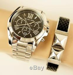 Original Michael Kors Uhr Damenuhr Mk5705 Bradshaw Xl Farbe