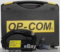 Original OP-COM Basic Opel Diagnose Interface Tester OBD2 Diagnosegerät OBD 2