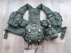 Original Russian Tactical Vest 6SH117 Ratnik AK Set ISSUE digital flora EMR